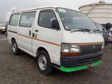 1997 MT Toyota Hiace Van RZH102V