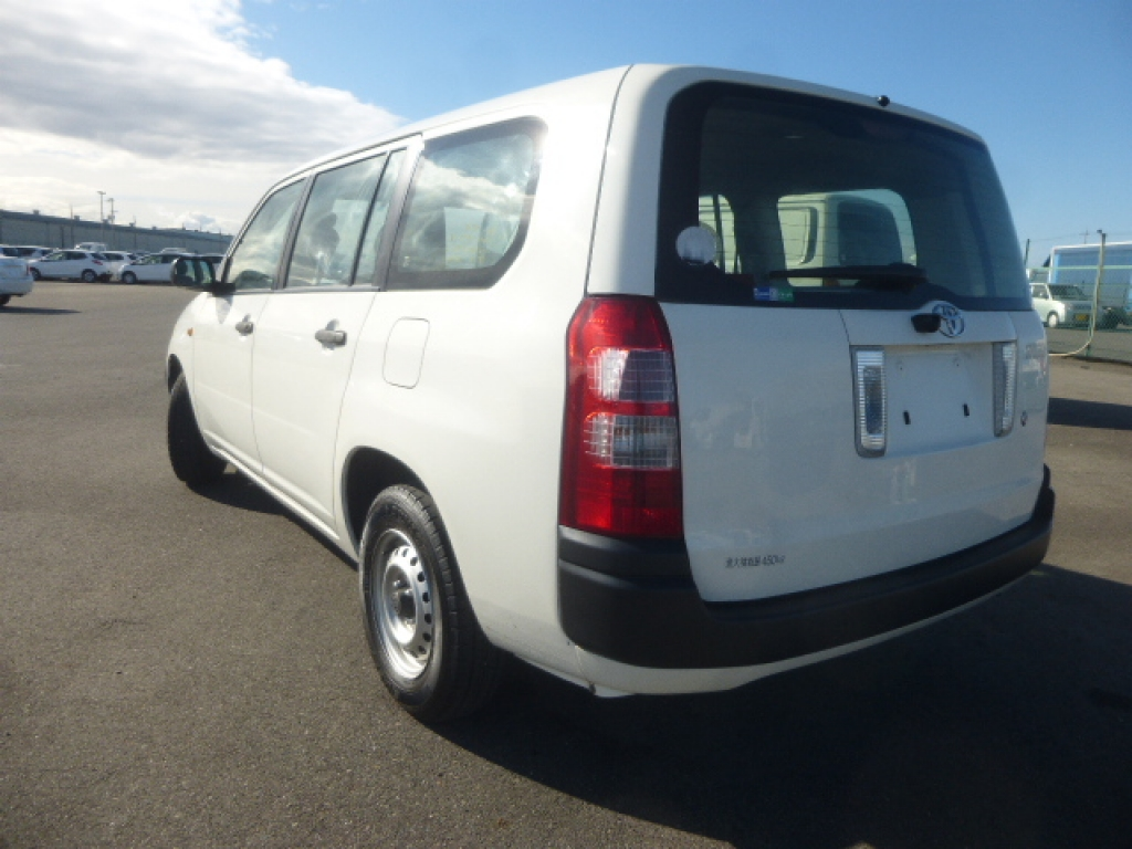 Used 2012 AT Toyota Succeed Van NCP51V Image[2]