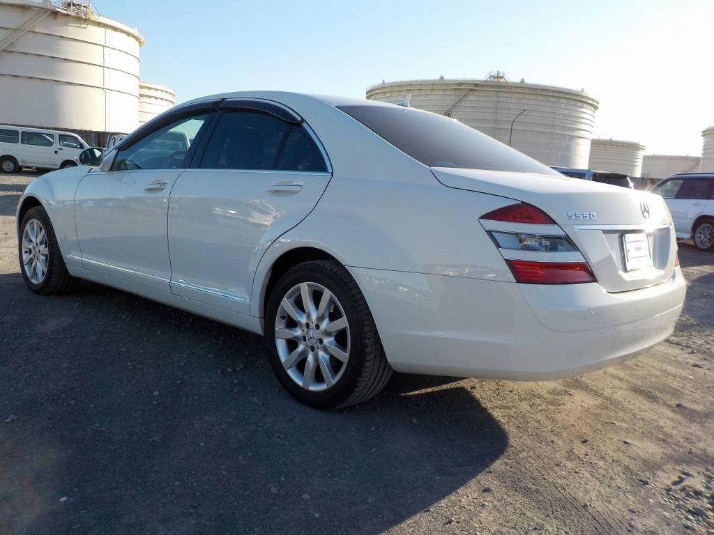 Used 2007 AT Mercedes Benz S-Class 221056 Image[1]