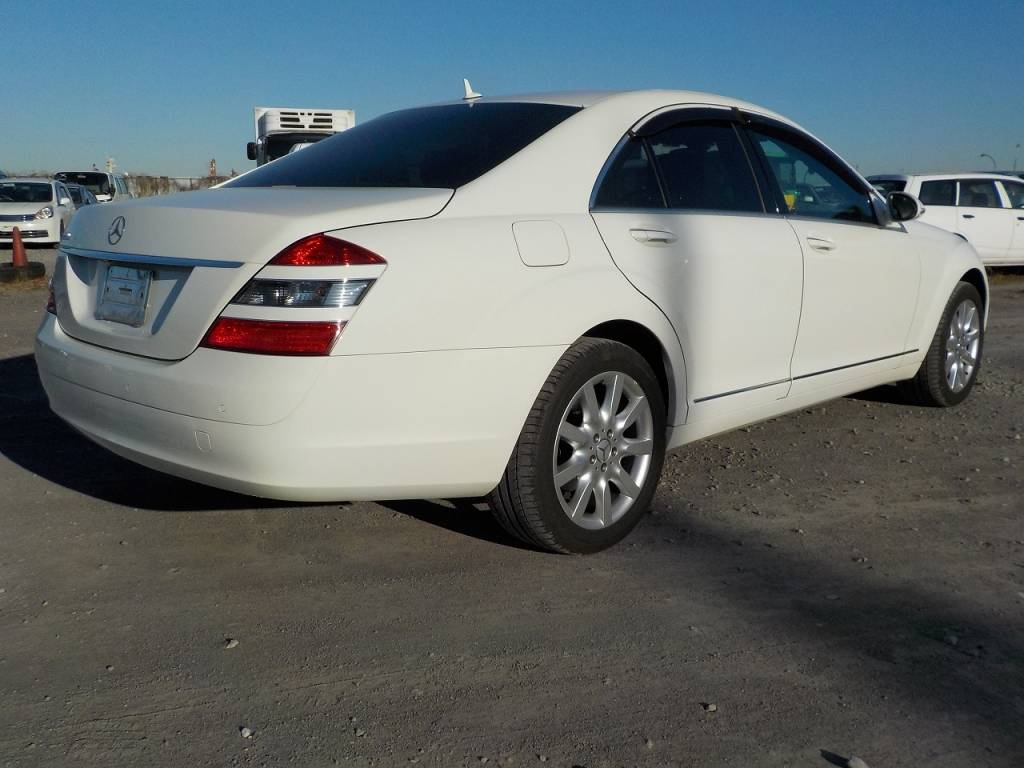 Used 2007 AT Mercedes Benz S-Class 221056 Image[2]