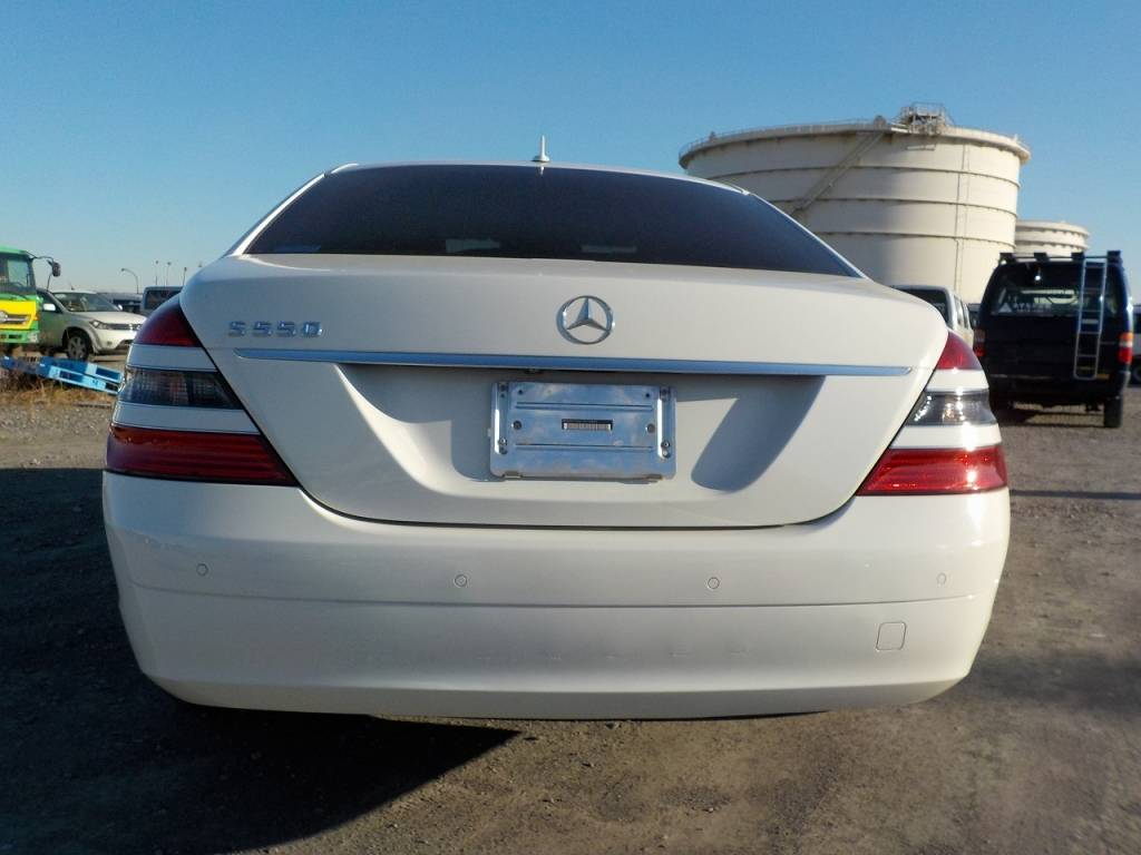 Used 2007 AT Mercedes Benz S-Class 221056 Image[3]
