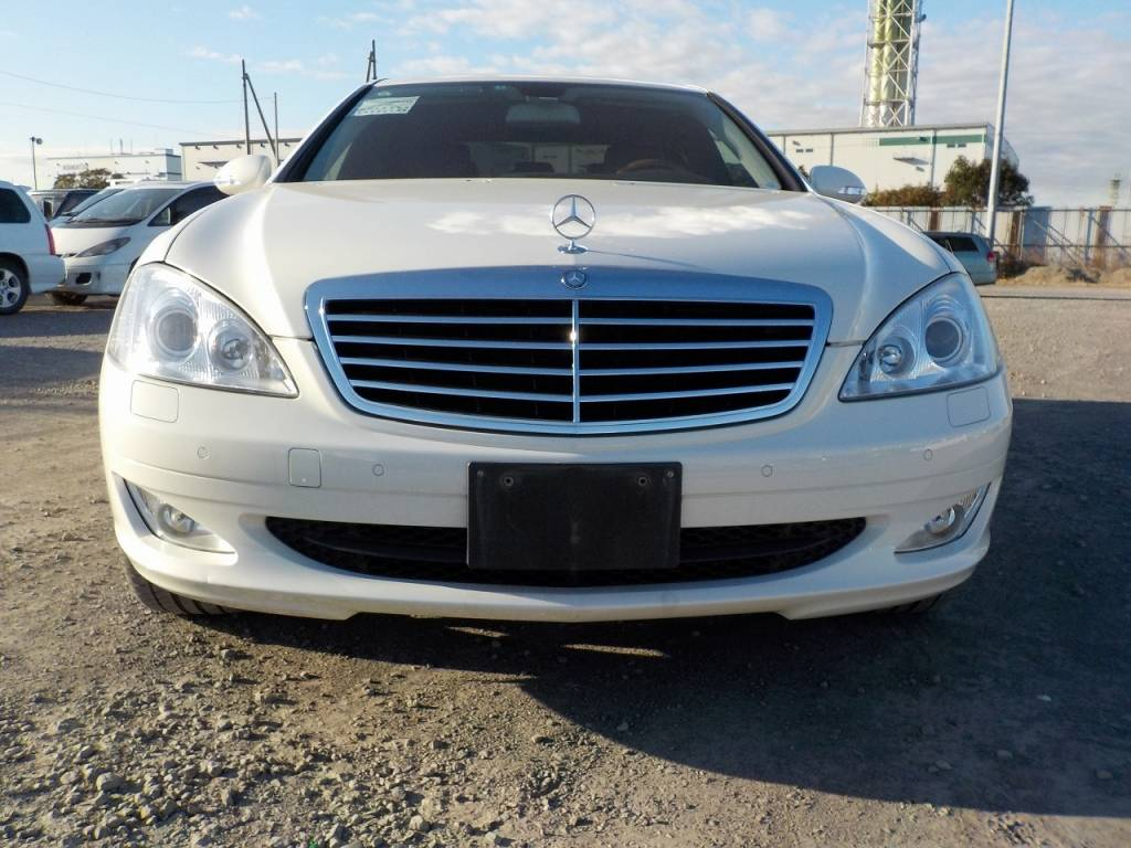 Used 2007 AT Mercedes Benz S-Class 221056 Image[4]