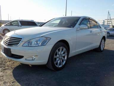 2007 AT Mercedes Benz S-Class 221056