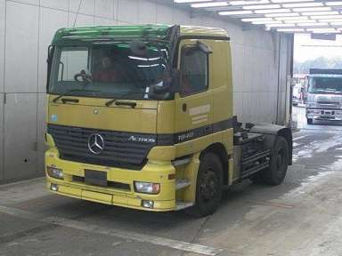 2003 MT Mercedes Benz ACTROS フメイ