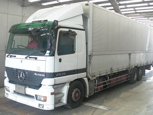Used 2003 MT Mercedes Benz ACTROS フメイ