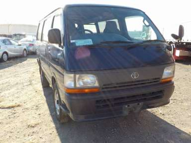 1996 MT Toyota Hiace Van RZH102V