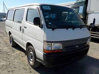 2002 MT Toyota Hiace Van RZH102V