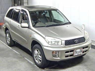 2001 AT Toyota RAV4 ACA21W