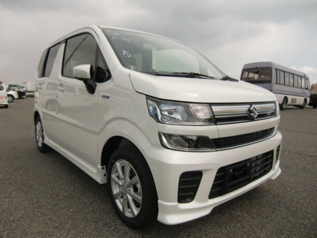 Buy Used 2017 Suzuki Wagon R Mh55s Pct00516 Carusedjp