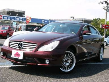 2005 AT Mercedes Benz Cls-Class DBA-219356