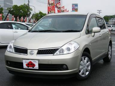 2005 CVT Nissan Tiida CBA-JC11
