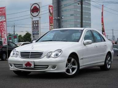 2005 AT Mercedes Benz C-Class DBA-203052