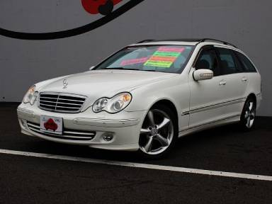 2005 AT Mercedes Benz C-Class DBA-203254
