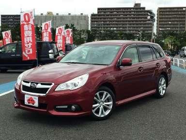 2012 CVT Subaru Legacy DBA-BRM
