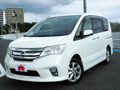 2012 CVT Nissan Serena DBA-FC26