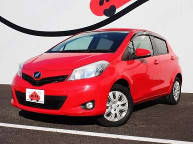 2011 AT Toyota Vitz DBA-NSP135