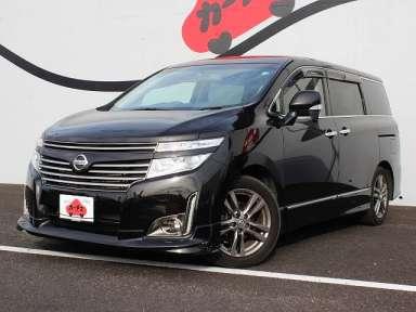 2013 CVT Nissan Elgrand DBA-TNE52