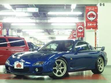 2002 MT Mazda RX-7 GF-FD3S