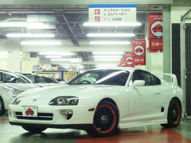 1999 AT Toyota Supra GF-JZA80