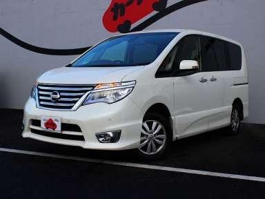 2014 CVT Nissan Serena DBA-FNC26