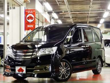 2012 CVT Nissan Serena DAA-HC26