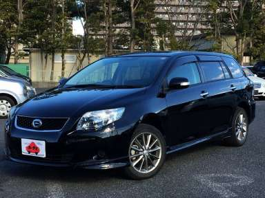 2009 AT Toyota Corolla Fielder DBA-NZE141G
