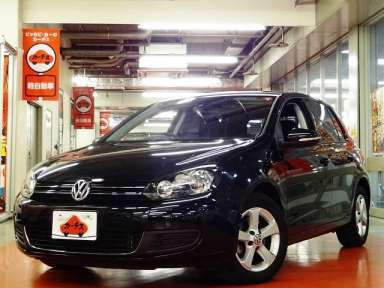 2010 AT Volkswagen Golf DBA-1KCBZ