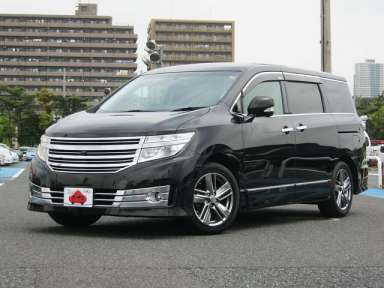 2010 AT Nissan Elgrand DBA-TE52