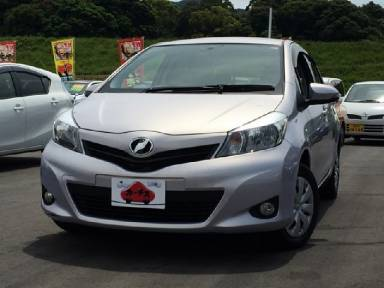 2012 AT Toyota Vitz DBA-NSP130