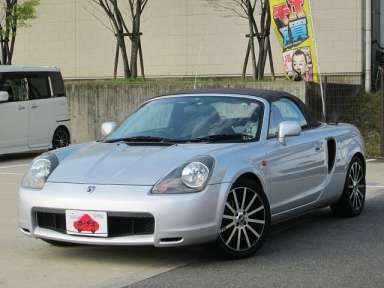 2000 MT Toyota MR-S TA-ZZW30