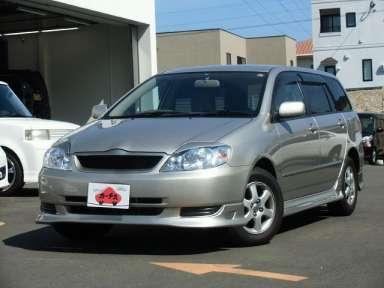 2002 AT Toyota Corolla Fielder TA-NZE121G