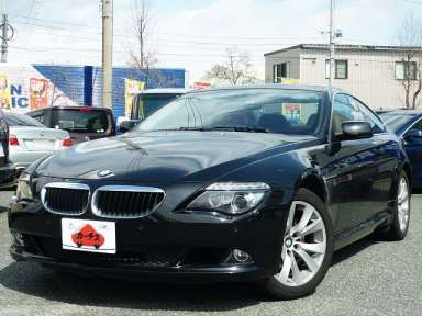 2008 AT BMW 6 Series ABA-EH30