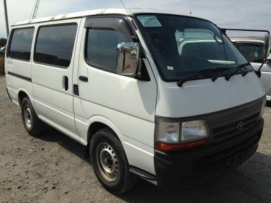 2004 MT Toyota Hiace Van TRH102V