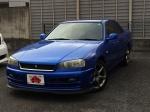 2001 AT Nissan Skyline GF-ER34