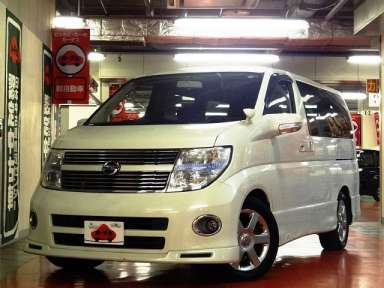 2010 AT Nissan Elgrand CBA-E51