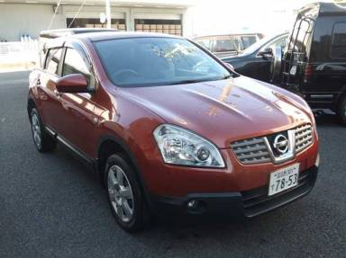 2007 AT Nissan Dualis DBA-J10