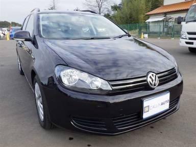 2010 AT Volkswagen Golf Variant DBA-1KCAX
