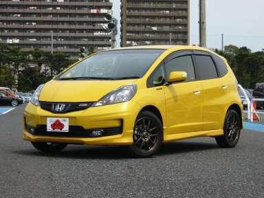 2012 MT Honda Fit DBA-GE8