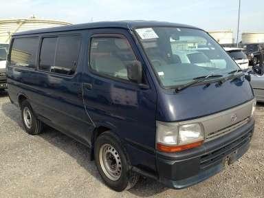 1997 MT Toyota Hiace Van GB-RZH112V