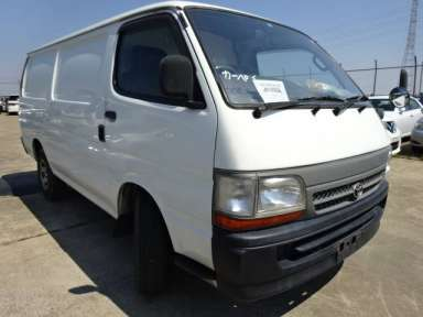 2002 MT Toyota Hiace Van LH172V