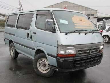 2001 MT Toyota Hiace Van RZH102V