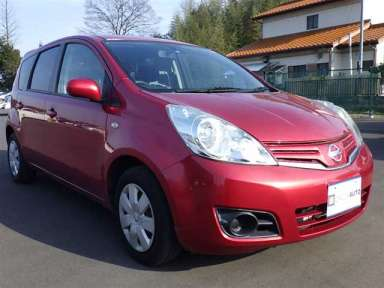 2010 AT Nissan Note E11