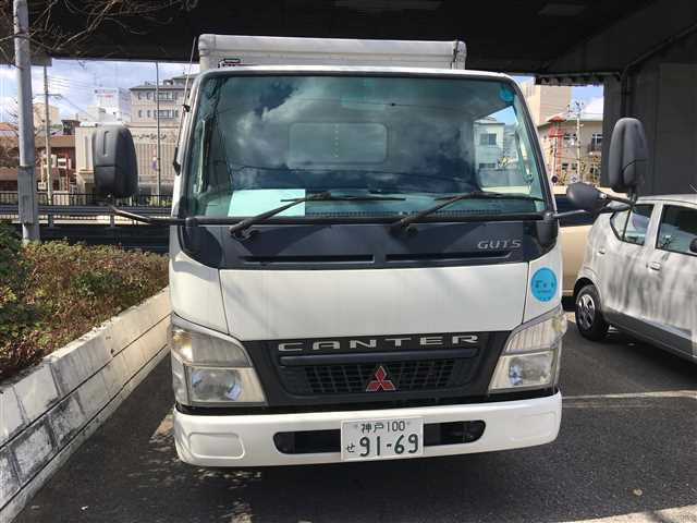 Used 2004 AT Mitsubishi Canter KK-FB70ABX Image[1]
