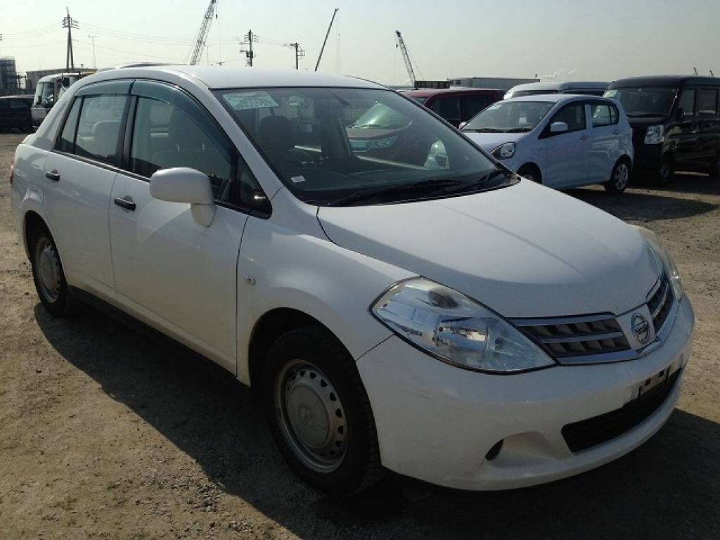Used 2010 AT Nissan Tiida Latio SC11