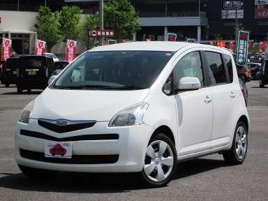 2006 CVT Toyota Ractis DBA-NCP100