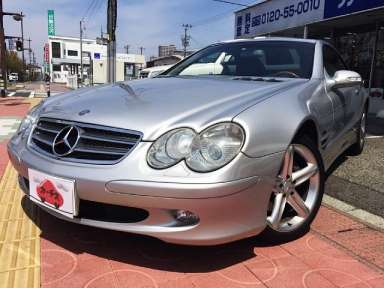 2002 AT Mercedes Benz SL-Class GH-230475