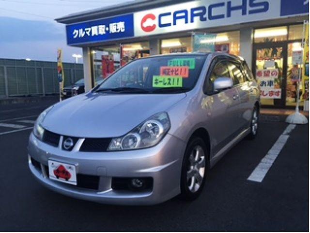 Used 2006 CVT Nissan Wingroad DBA-Y12