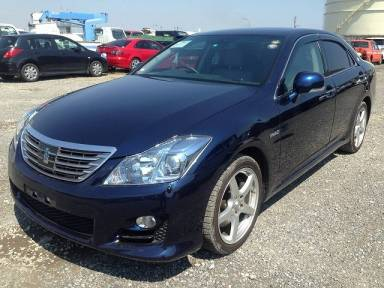 2010 AT Toyota Crown Hybrid GWS204