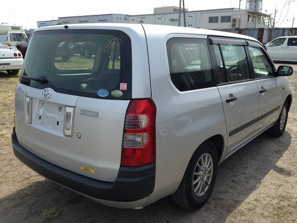 Used 2012 AT Toyota Succeed Wagon NCP58G Image[3]