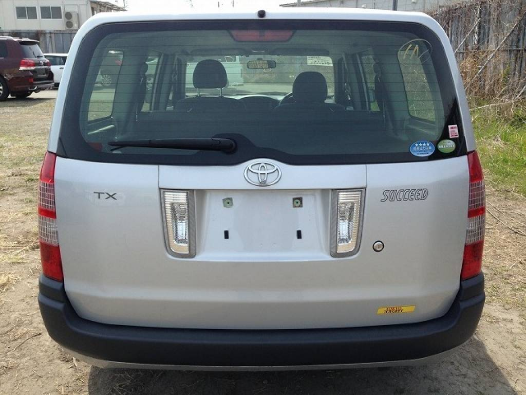 Used 2012 AT Toyota Succeed Wagon NCP58G Image[7]